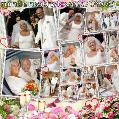 N° 95 : Le mariage de Mimie Mathy et Benoist Gérard