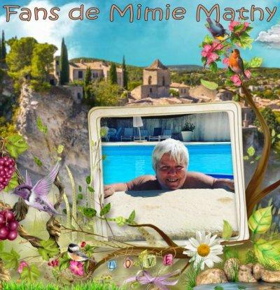 N° 1013 : Mimie Mathy à Vaison-la-Romaine