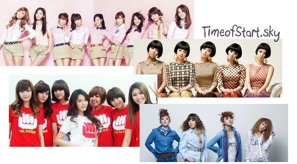 ~{Sondage : les WG sont désigné comme la meilleure groupe de filles coréenne devant SNSD}~