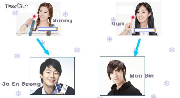 ~{Yuri et Sunny veulent être dans We Got Married avec ...}~