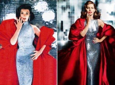 PHOTO - Jessica Biel rétro et glamour pour Revlon !