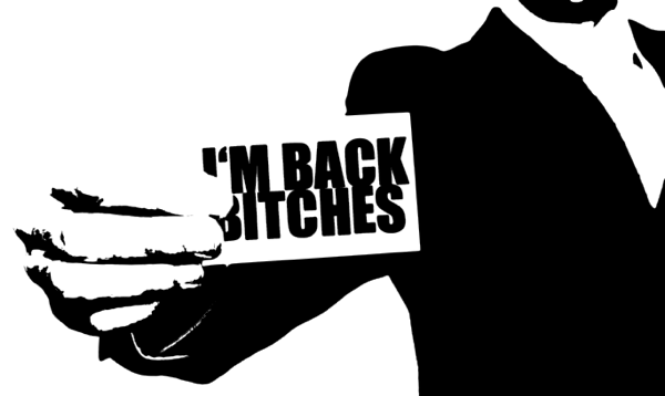 I'm BACK ! (I get a bac.. ._.)