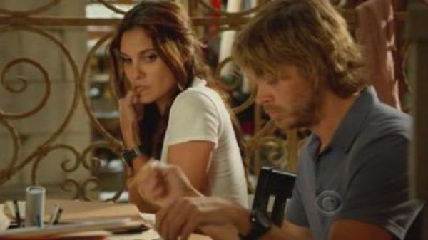 cross-over mentalist /NCIS LA