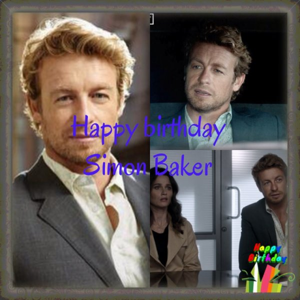 Happy Birthday !! Simon Baker