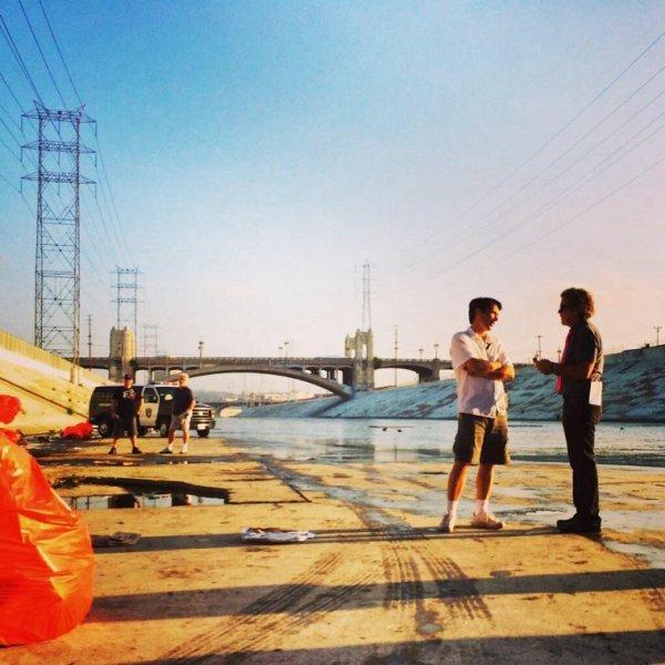 Premier jour de tournage de la saison 6 de NCIS:LA