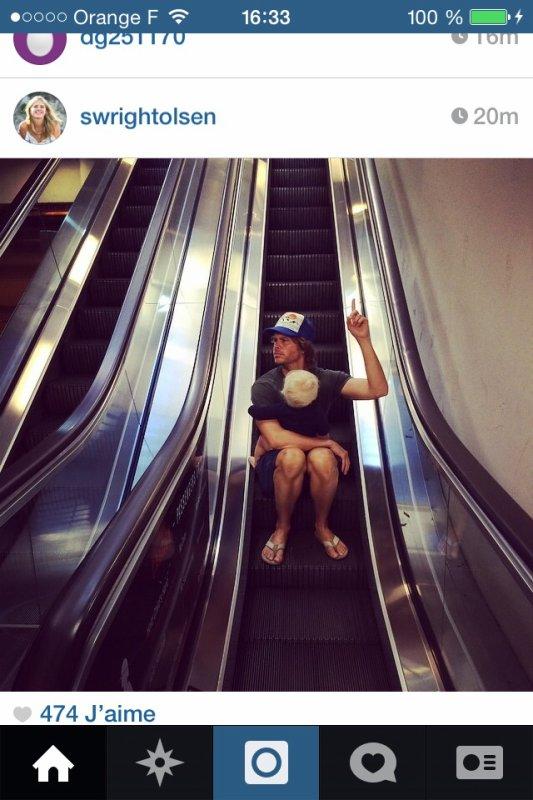 Le délire de l'escalator
