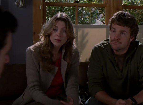 Ellen Pompeo et Chris O'Donell ( un ex de Meredith )