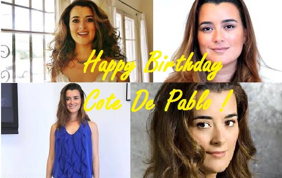 Happy Birthday Cote De Pablo <3