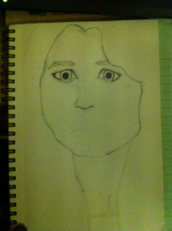Est ce que vous reconnaissez la personne que j'essaie de dessiner ?