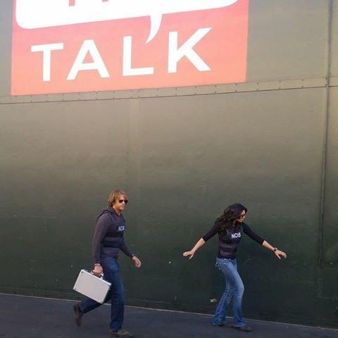 The Talk #Kensi&Deeks