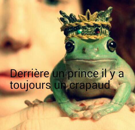 Derrière un prince...