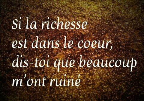 Richesse ❤