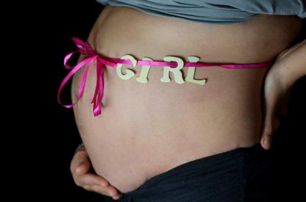Mon cinquième babys sera donc une fille!