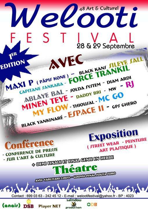 Les Artistes Present Pour Welooti Festival