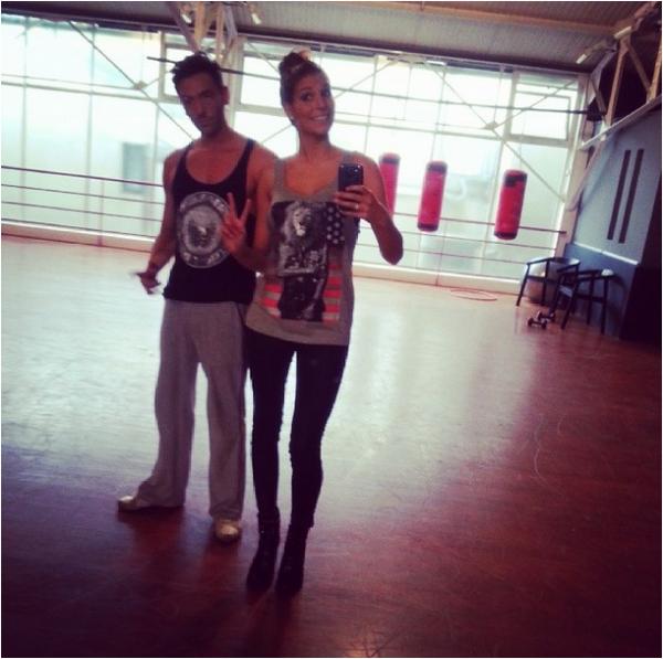 2013/10/26: Laury s'entraîne pour Dals