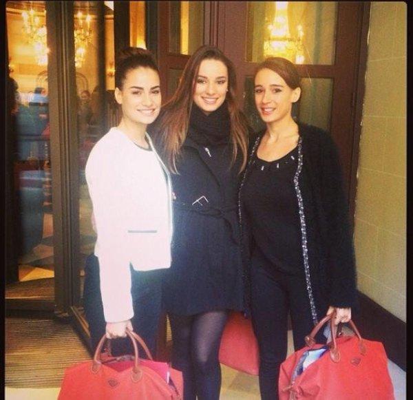 2013/11/11: Arrivée des Miss à Paris