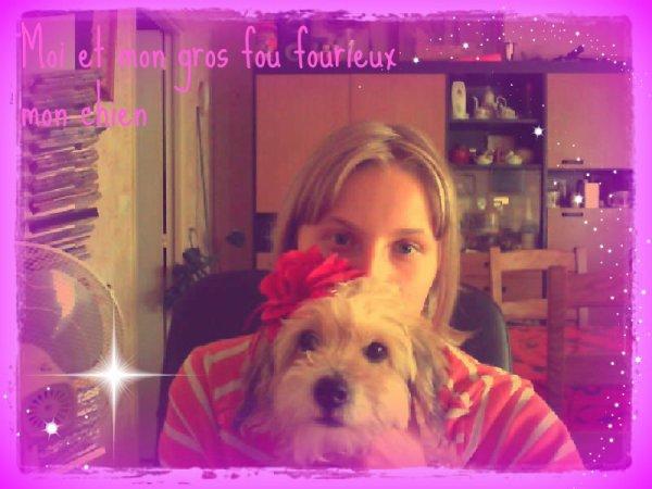 *Moi et mon chien