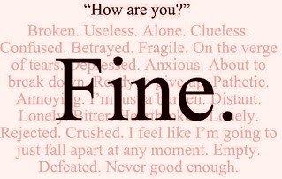 "I'm ""Fine""."