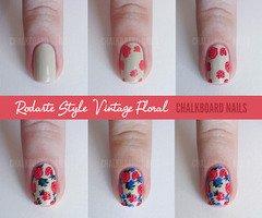 Article n°4 : Sélection Nail-Art fleur