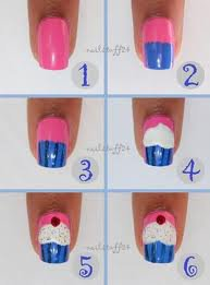 Article n°6 : Nail-Art Cupcake