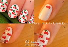 Article n°8 : Nail-Art Cerises
