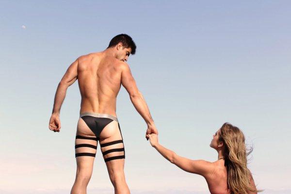 Kemuel en couple pour Petit-Q Underwear