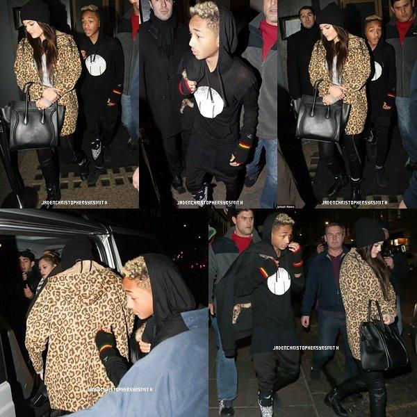 . ♦ 3 Mars 2013 ~ Jaden Smith a encore été aperçu dans les rues de Londres avec Kylie Jenner sortant du Cafe Nero. .