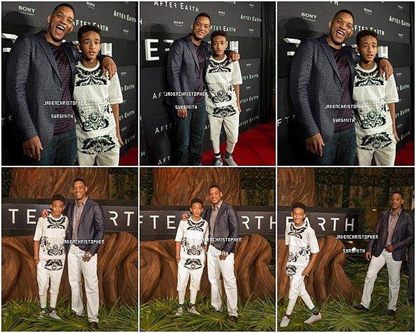 . ♦ 23 Avril 2013 ~ Jaden Smith était avec son père au Mexique pour la promotion de leur nouveau film After Earth. TOP OU FLOP ?   .