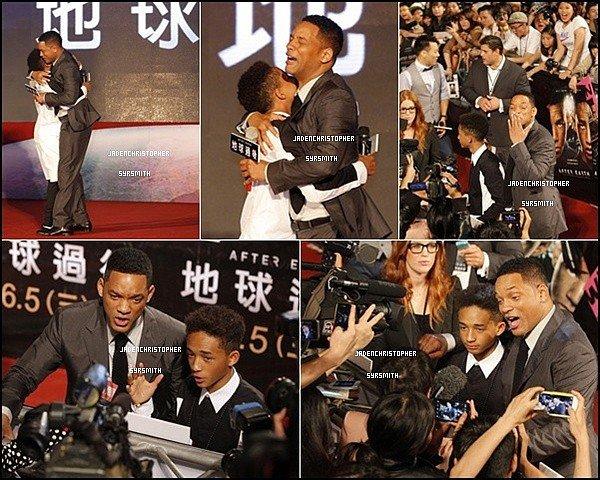 . ♦ 03 Mai 2013 ~ Jaden Smith était présent pour le meet and great avec ses fans à Taiwan pour la promotion de son film AFTER EARTH.TOP OU FLOP ?   .