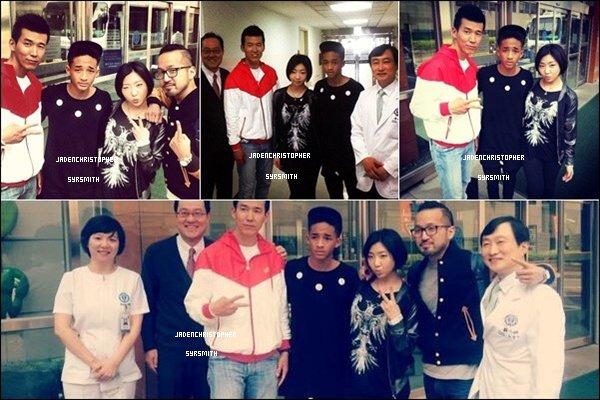 . ♦ 07 Mai 2013 ~ Jaden Smit et son père Will Smith se sont rendus à Seoul en Corée du Sud pour la conférence de presse de leur film After Earth qui sortira en Corée le 30 Mai 2013. (BIG BANG) TOP OU FLOP ?   .