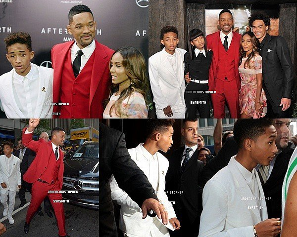 . ♦ 30 Mai 2013 ~ Jaden et son père, ont était vues quittant leur hotel en pleins NYC. TOP OU FLOP ?   .