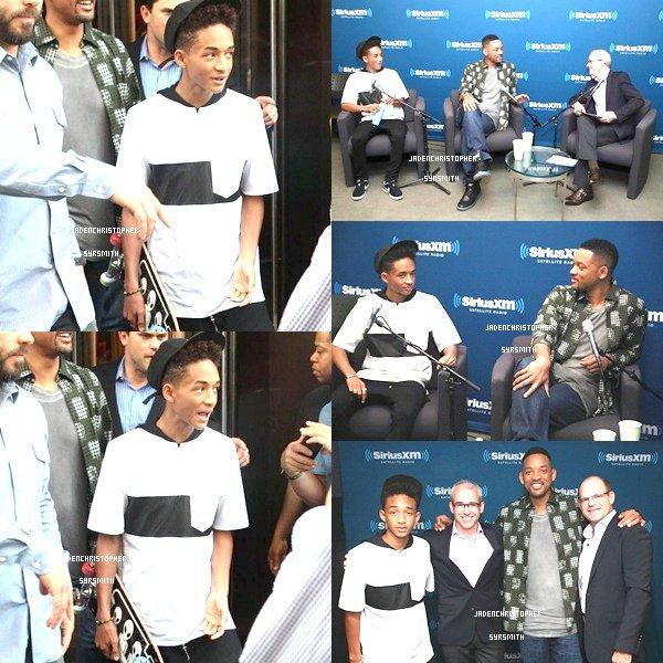 . ♦ 6 Juin 2013 ~ Jaden était présent en compagnie de Chris Tucker au TLC Chinese Theatre à Hollywood pour la cérémonie des empruntes de son fidèle ami Jackie Chan.TOP OU FLOP ?   .