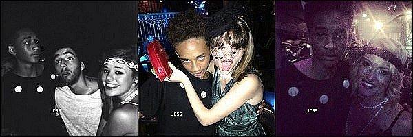 .  02/ 08/ 13 : Jaden Smith était présent pour le 16ème anniversaire de (son ex) Olivia Holt, il y avait également d'autres teen star comme Mateo Arias, Stella Hudgens, Debby Ryan, Hailee Steinfeld Joey King et bien d'autres. .