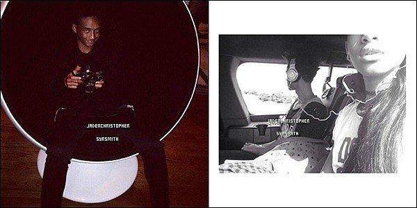 .  1/ 10/13 : Jaden donne enfin de ses nouvelles en postant une photo sur son compte instagram. Que pensez-vous de la tenue de Jaden ? Personnellement, j'aime assez, sa change de ses tenues tout en noir..