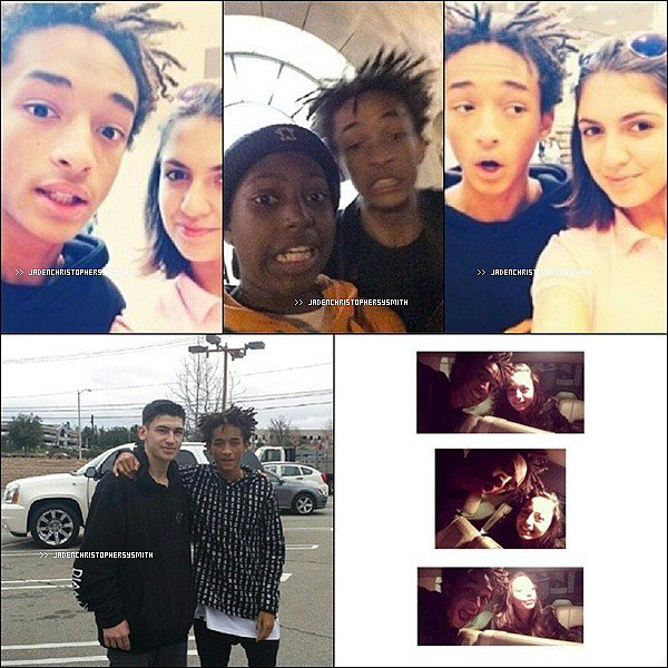 .  09/ 02/ 14 - Jaden de retour à Los Angeles a été aperçu à Fred Segal à West Hollywood en Californie avec ses amis.  .