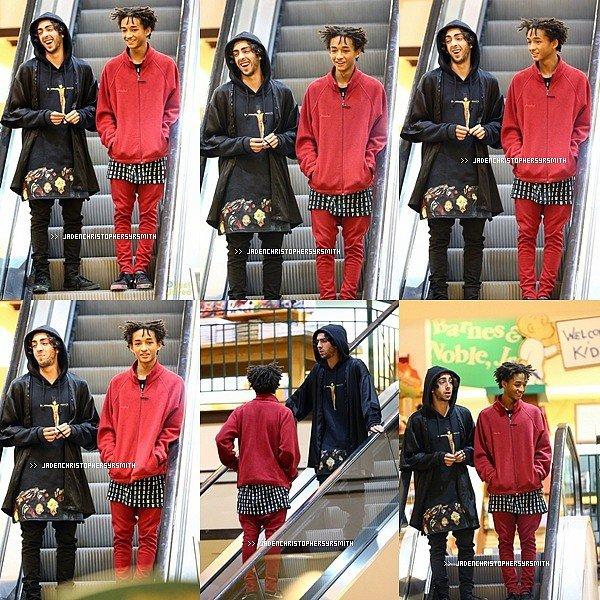 .  27/ 02/ 14 - Jaden a été aperçu quittant le Aveda Salon à Calabasas.TOP OU FLOP ?   .