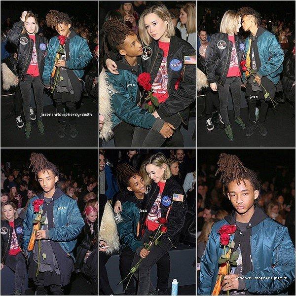 ||14.03.16 || Jaden Smith était présent pour l'avant première du nouveau Divergente ''Allegiant'' à New York, de nombreuses célébrités étaient également présents.