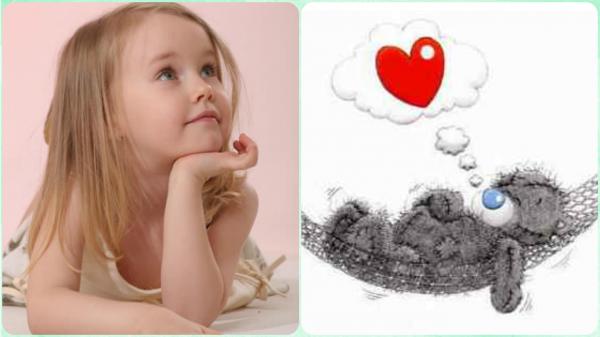 A l'âge de l'enfance on aiment rêver, à l'âge de l'adolescence, on rêve d'aimer !