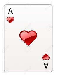 La vie n'est pas un jeu de carte, on ne joue ni avec les coeurs ni avec les dames