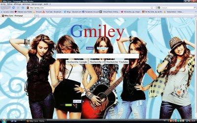 Maintenant notre Miley Cyrus a son propre site de recherche GMILEY.com