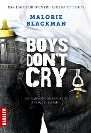 .  Boys don't cry Malorie Blackman .