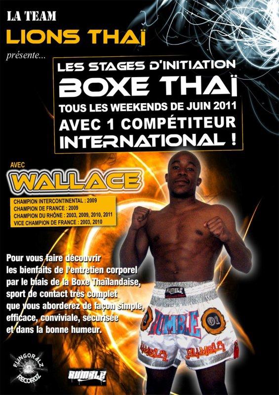 Stages Muay Thai avec TW