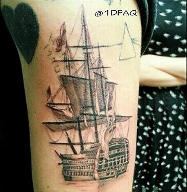 Harry's new tatoo and his symbolism