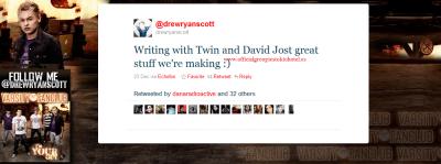 Rumeur – Bill Kaulitz en collaboration avec Drew Ryan Scott ?