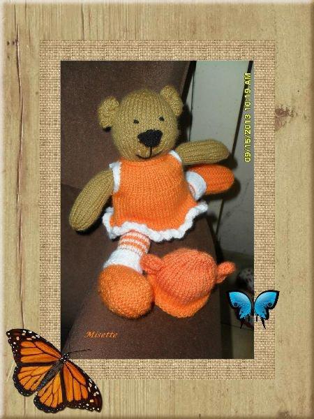 une ours danseuse ;)