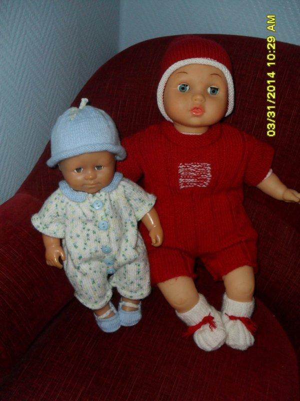 Ensemble au tricot
