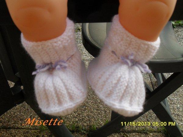 Une autre pair de chausson
