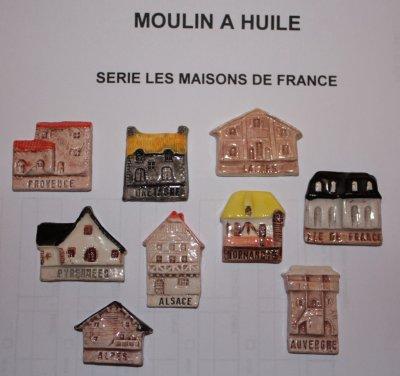 LES    MAISONS  DE FRANCE        M. à Huile  ( recherches )