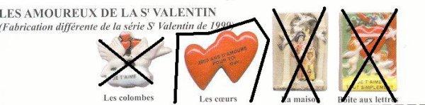 AMOUREUX St  VALENTIN ( recherches )
