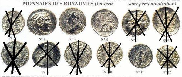 MONNAIE  DES  ROYAUMES            ( recherches )